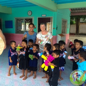 Hand Made toys for the Children at Nakhon Orphanage.