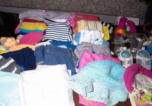 Childrens cloths for the Nakhon Orphanage