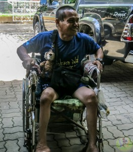 13th Donation of wheel chair-3