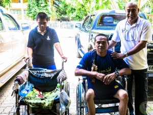 13th Donation of wheel chair-8