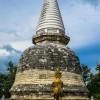 Coral Stupa Temple Thong Nian(9-16-53 N 99-48-56E)