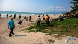 Beach cleaning Phse 2