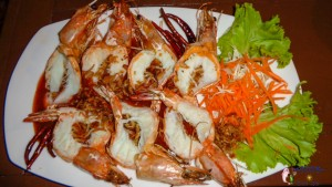 Prawns with Tamarind sauce