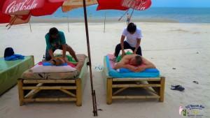 Massage on the beach (2)