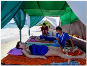 27th Massage on the beach