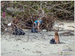13th Beach cleaning-5